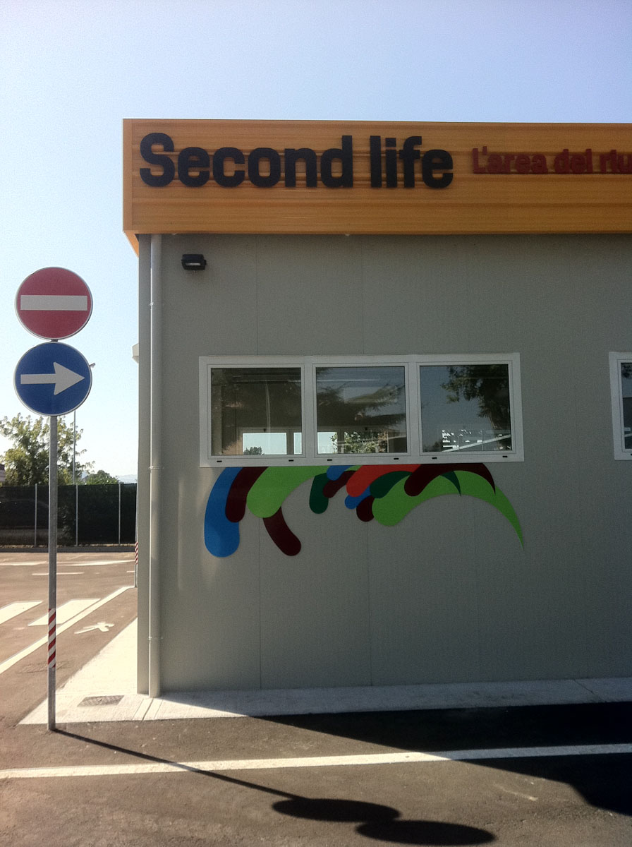 Second life, l'area del riuso