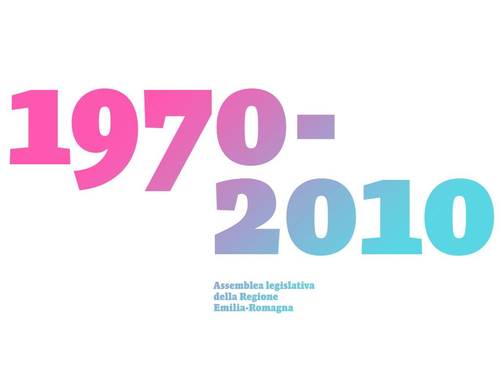 Cofanetto 40° anniversario Regione Emilia-Romagna
